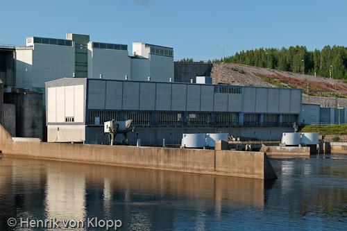 Maskinhuset Porsi kraftstation