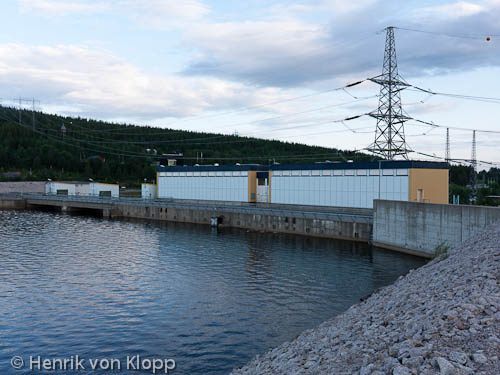 Porjus nya kraftstation