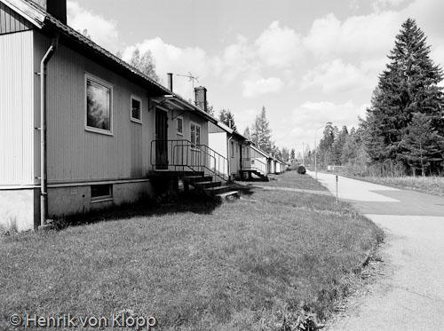 Övergivet villaområde i Närke. Klicka på bilden för att se fler.