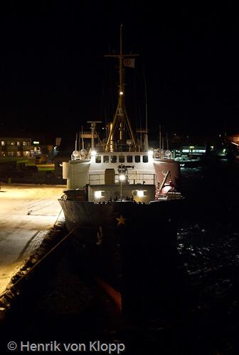 MS Nordstjernen vid kaj i Rørvik