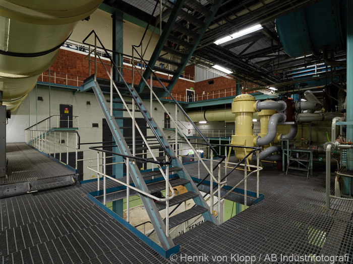 B3 trappa vid turbin